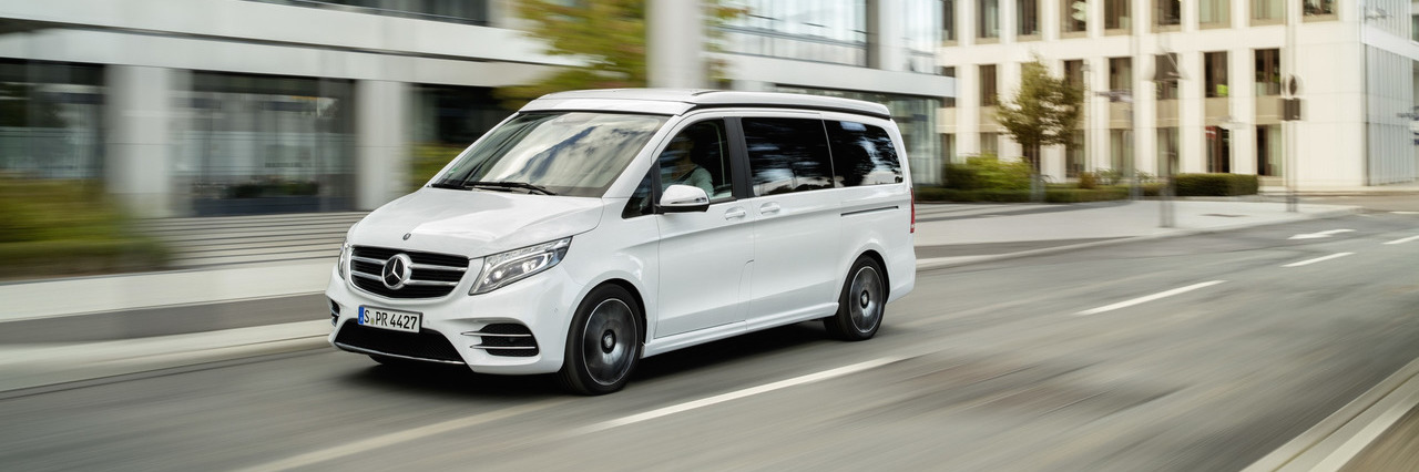 mercedes v class marco polo horizon seats seven sleeps five. Black Bedroom Furniture Sets. Home Design Ideas