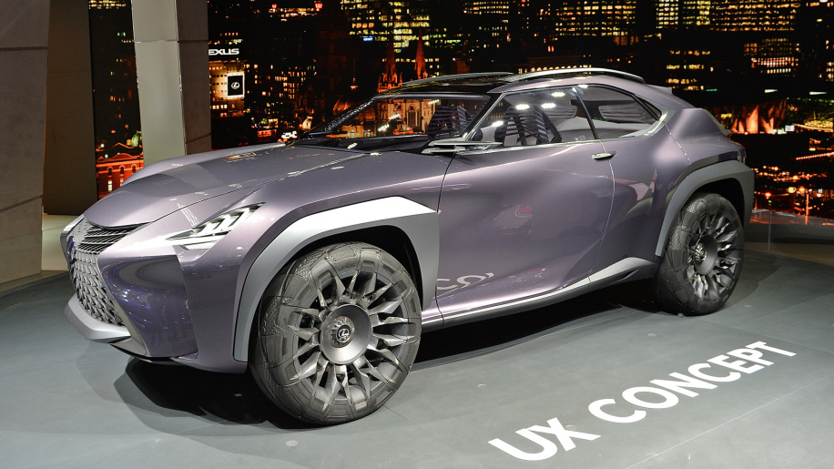 Lexus compact crossover based on the UX could debut in Geneva