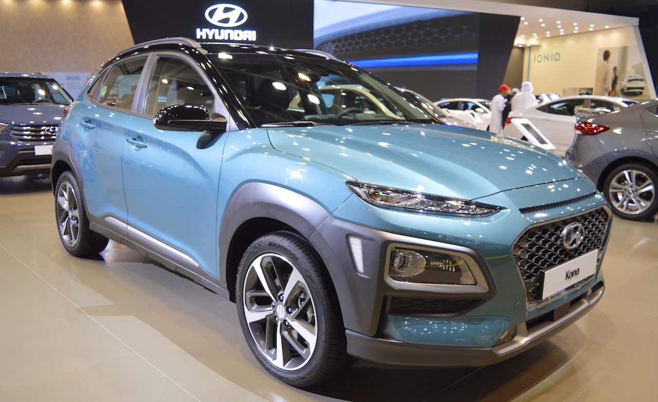 Electric Hyundai Kona crossover to have Bolt-beating 292-mile range
