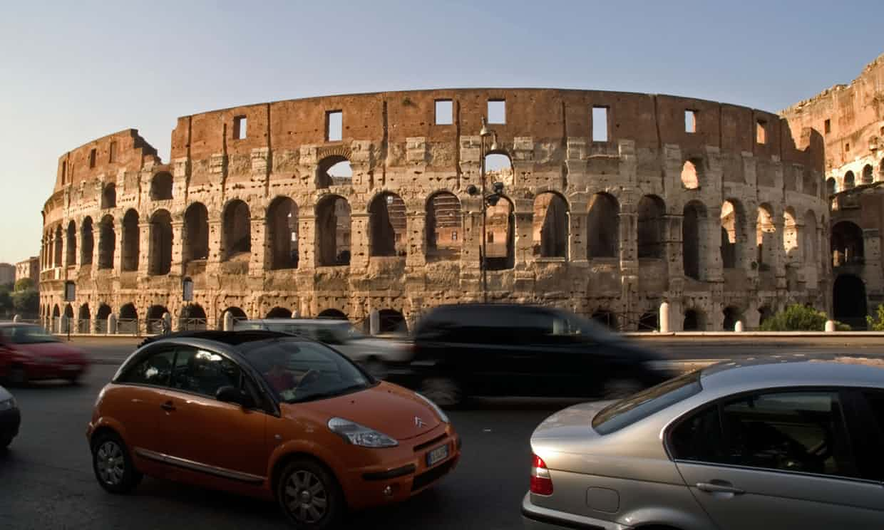 Arrivederci diesel: Rome to ban oil-burning cars by 2024