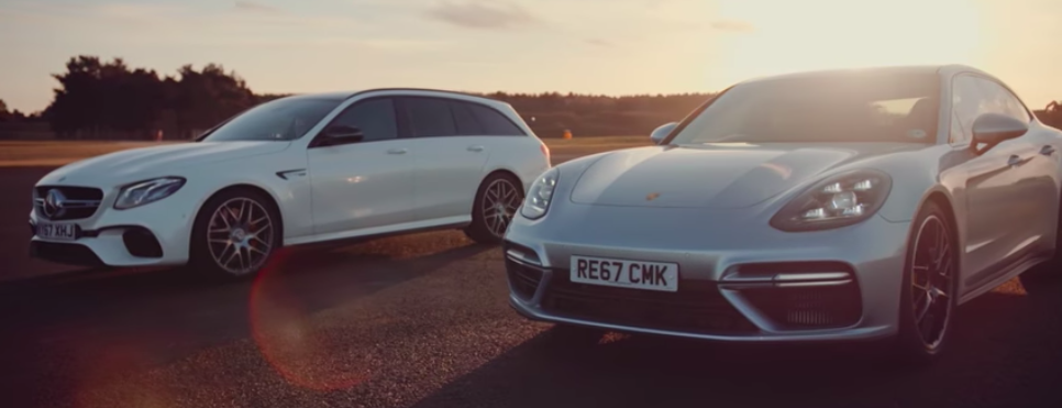 Super Wagon Drag Race: Amg E63 S Vs Panamera Turbo Sport Turismo
