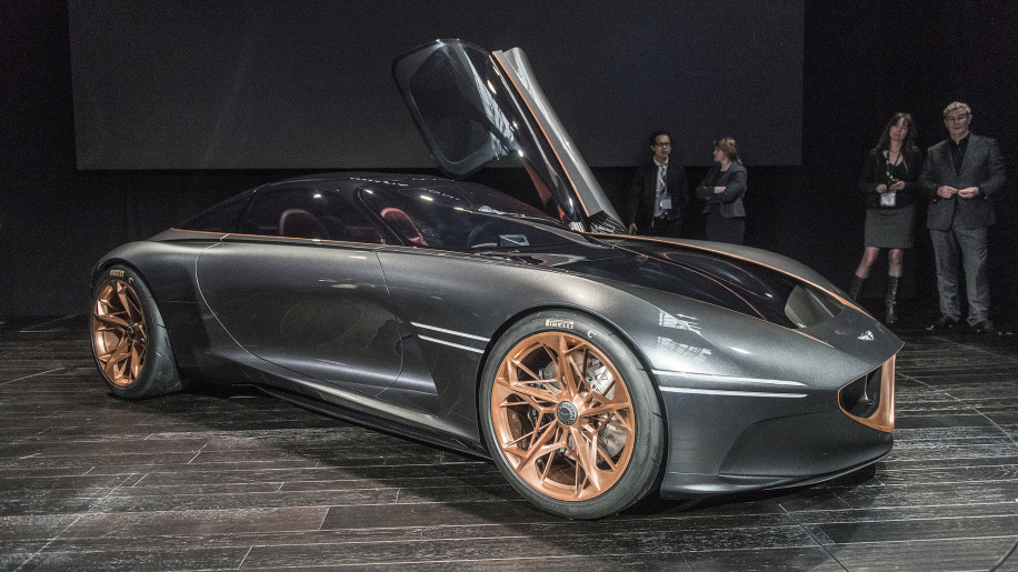 Genesis Essentia Concept embraces electric performance