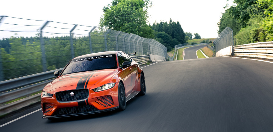 Jaguar's 600-hp XE SV Project 8 is the fastest Jaguar sedan ever