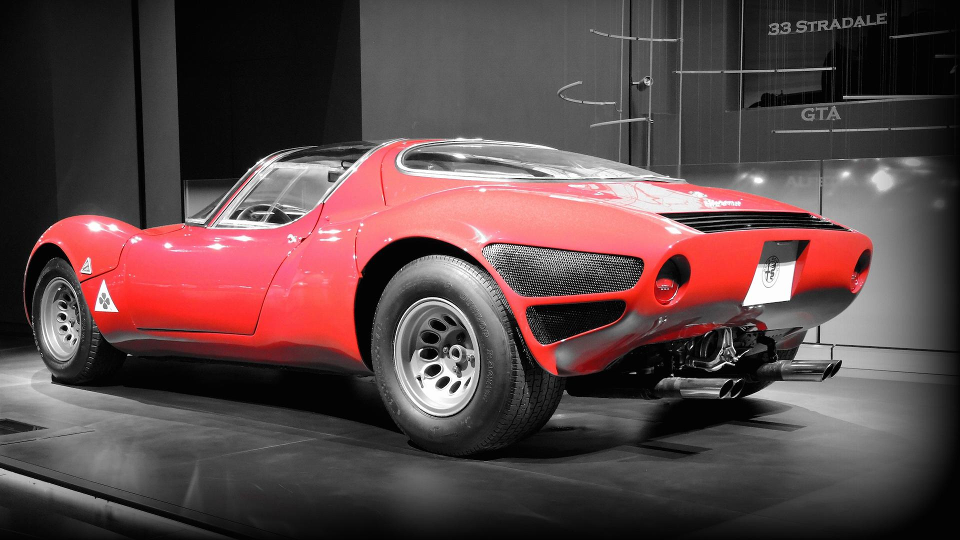 Rare Alfa Romeo Tipo 33 Stradale Sounds Great, Looks Even Better