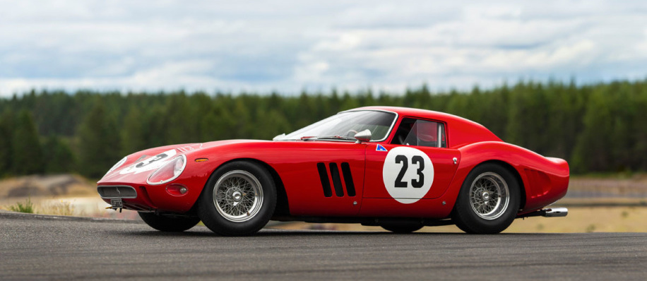 1962 Ferrari 250 GTO with $45M estimate most expensive car offered at auction