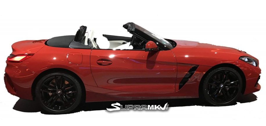 2019 BMW Z4 revealed in leaked photos