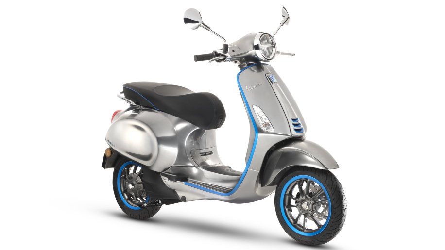 Vespa Elettrica electric scooter to begin production next month