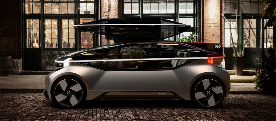 Volvo 360c Autonomous Concept Wants You To Drive Instead Of Fly