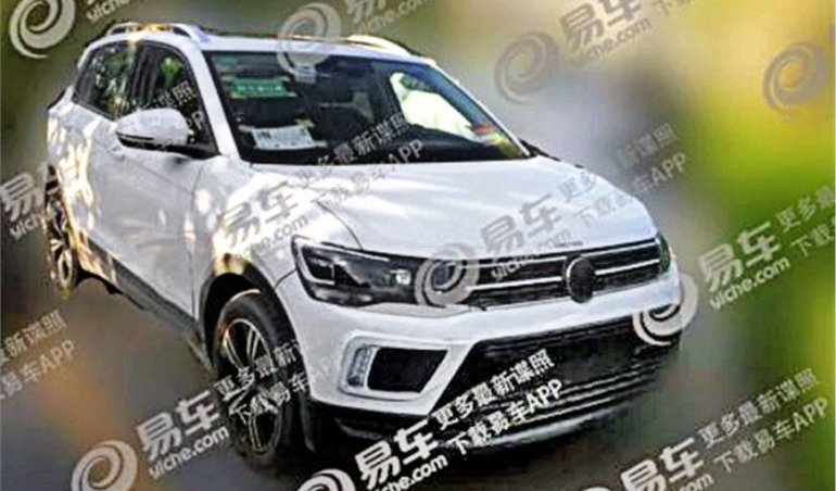 VW T-Cross spied in long wheelbase spec