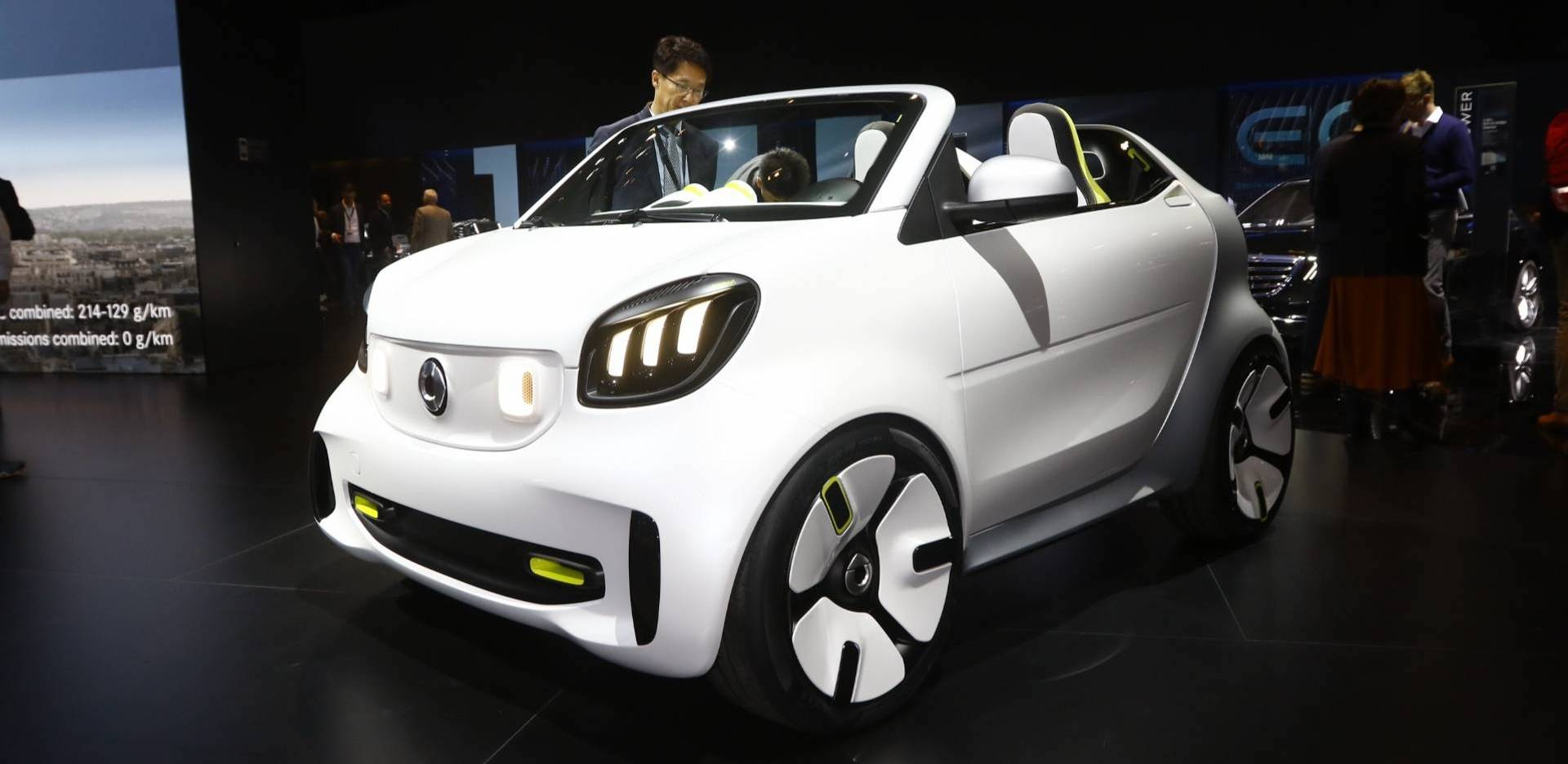 Smart Forease Tiny Speedster Concept Arrives In Paris