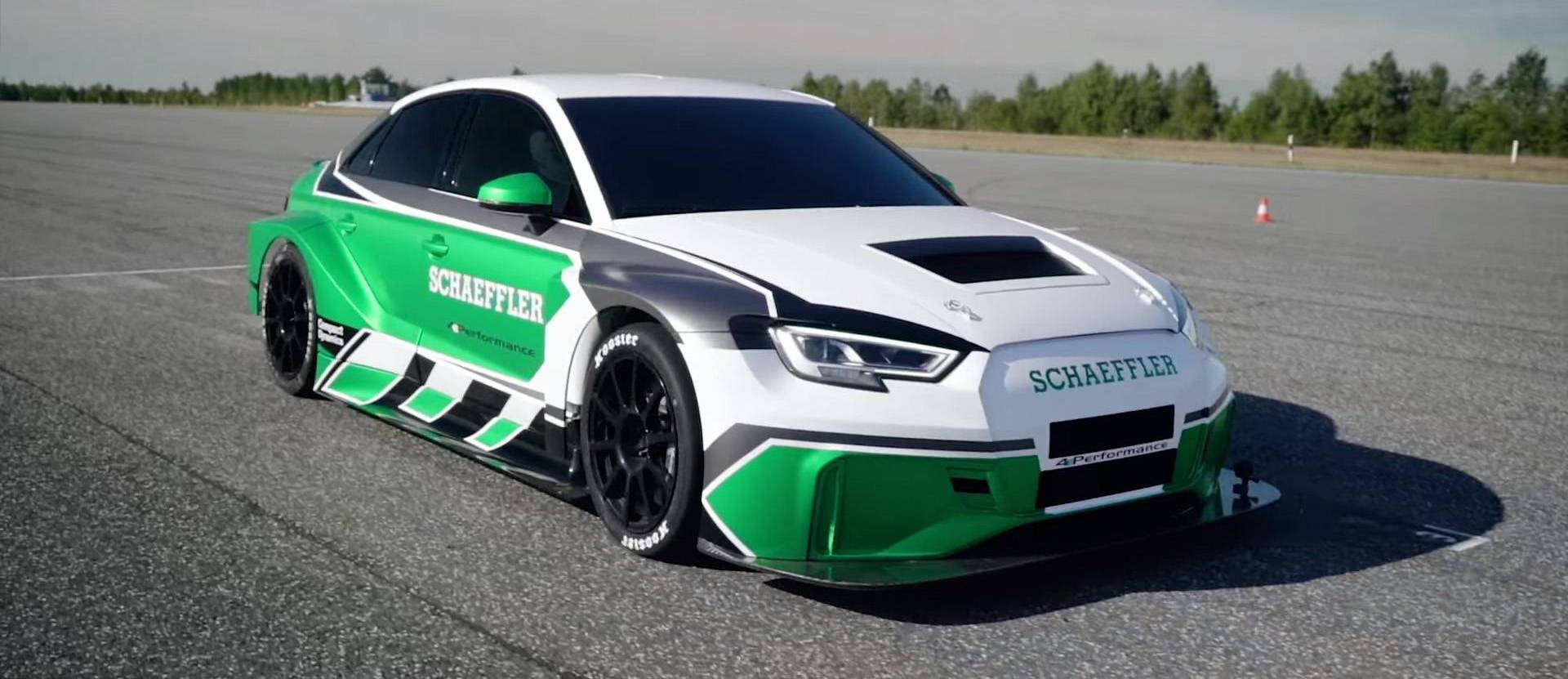 See This Electric Audi RS3 Beat A Porsche 911 GT2 RS – In Reverse