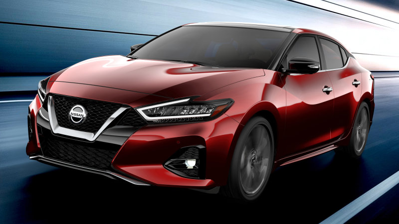 2019 Nissan Maxima revealed ahead of L.A. Auto Show