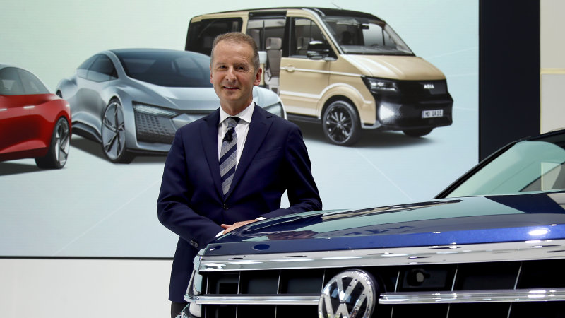 VW talk of alliance with Ford could include pickup trucks