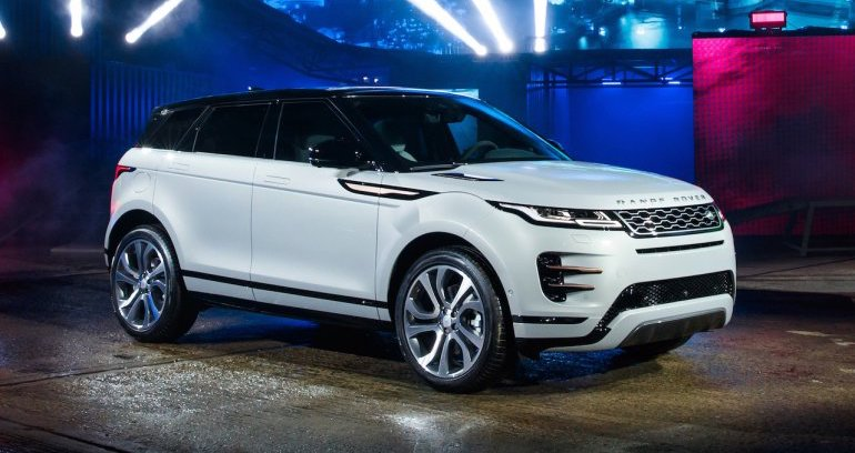 2020 Land Rover Range Rover Evoque will get full plug-in hybrid option