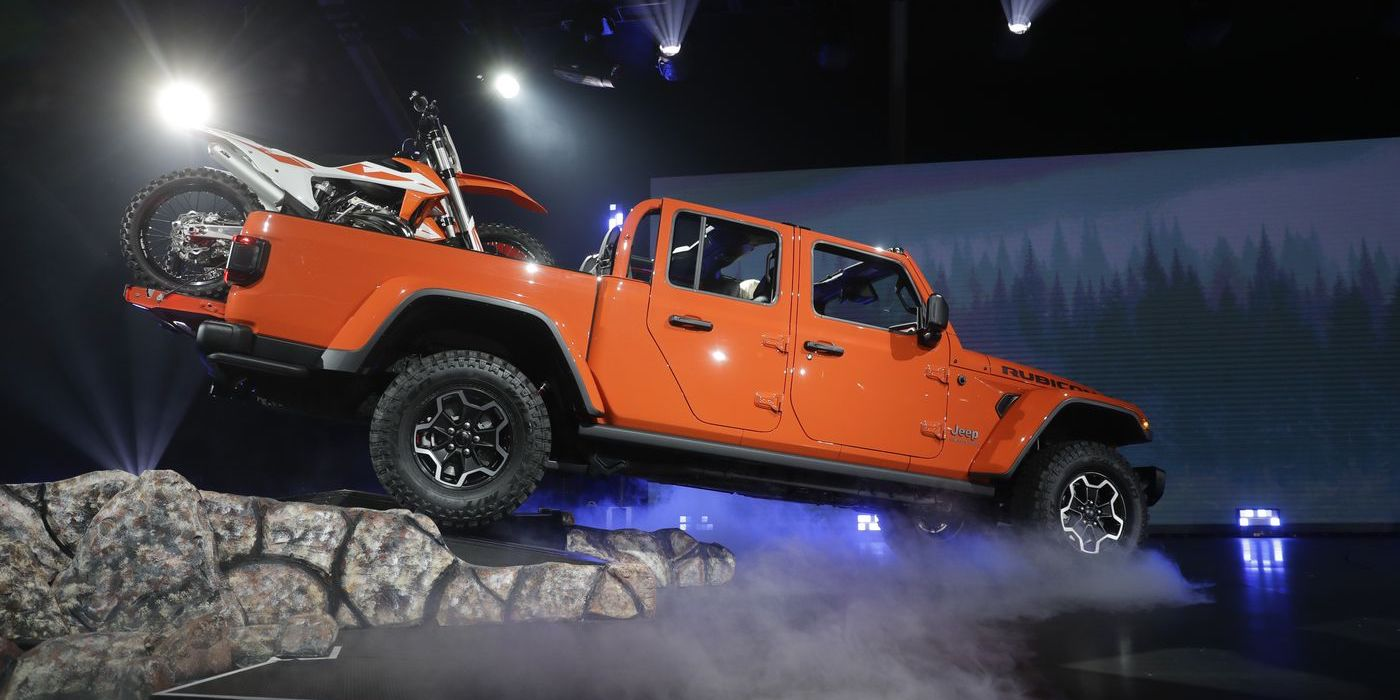 Jeep Gladiator was designed as an outdoor lifestyle tour de force