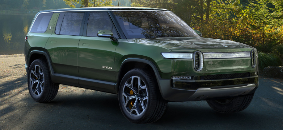 Rivian R1T Electric Pickup Truck Shocks World In LA Debut