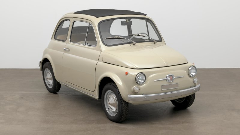 MoMA displays a classic Fiat 500 at its Good Design exhibition