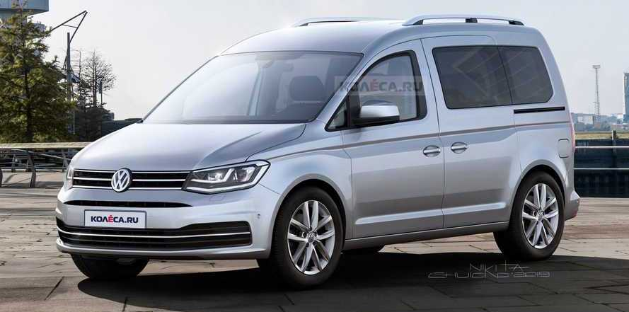 2020 VW Caddy Rendering Brings Us Down To Earth