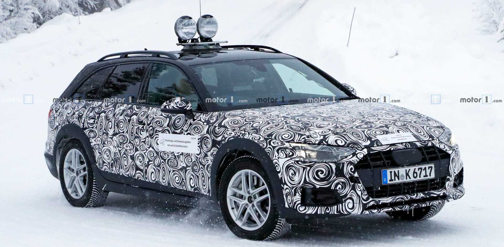 New Audi A4 Allroad Spied For The First Time