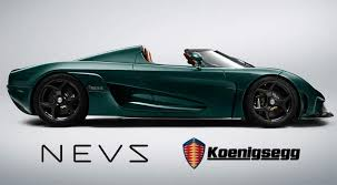 Koenigsegg And NEVS Join Forces To Take On The World