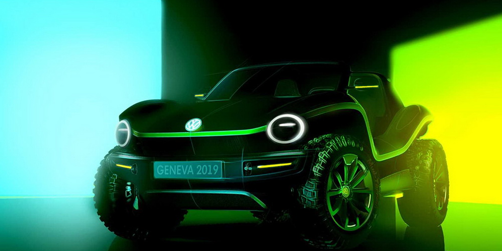 Volkswagen reanimates the Dune Buggy for Geneva