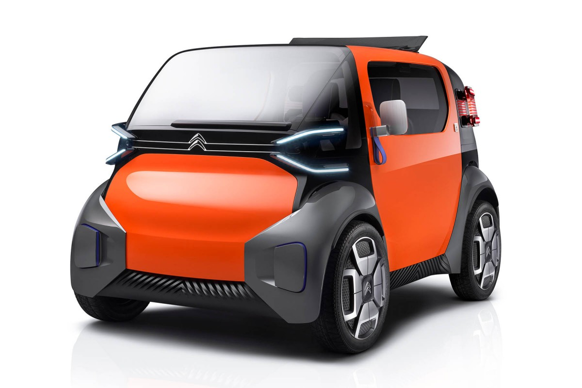 Here's Citroën's futuristic city car, the Ami One