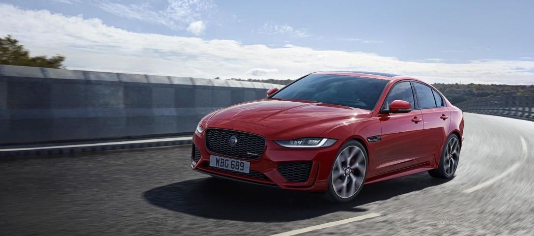 2020 Jaguar XE updated inside and out, diesel engine dropped