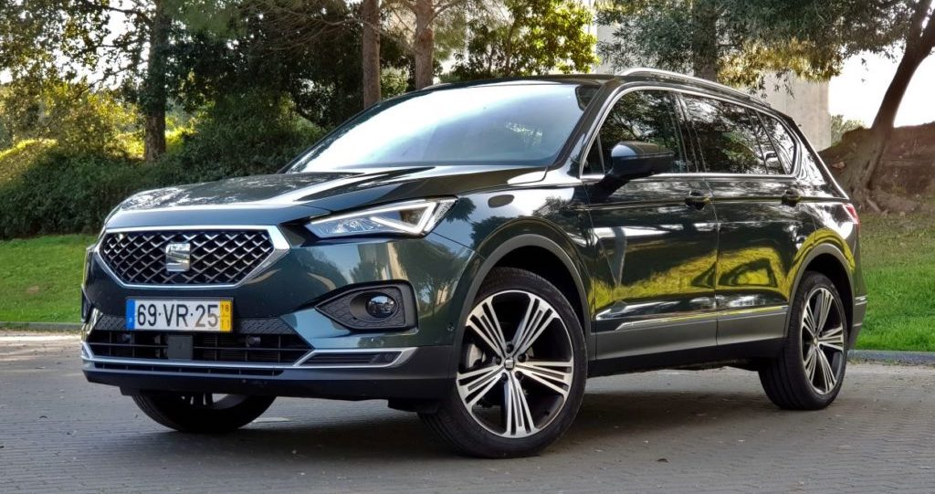 seat tarraco 2 0 tdi xcellence pronto para mi dos e gra dos. Black Bedroom Furniture Sets. Home Design Ideas