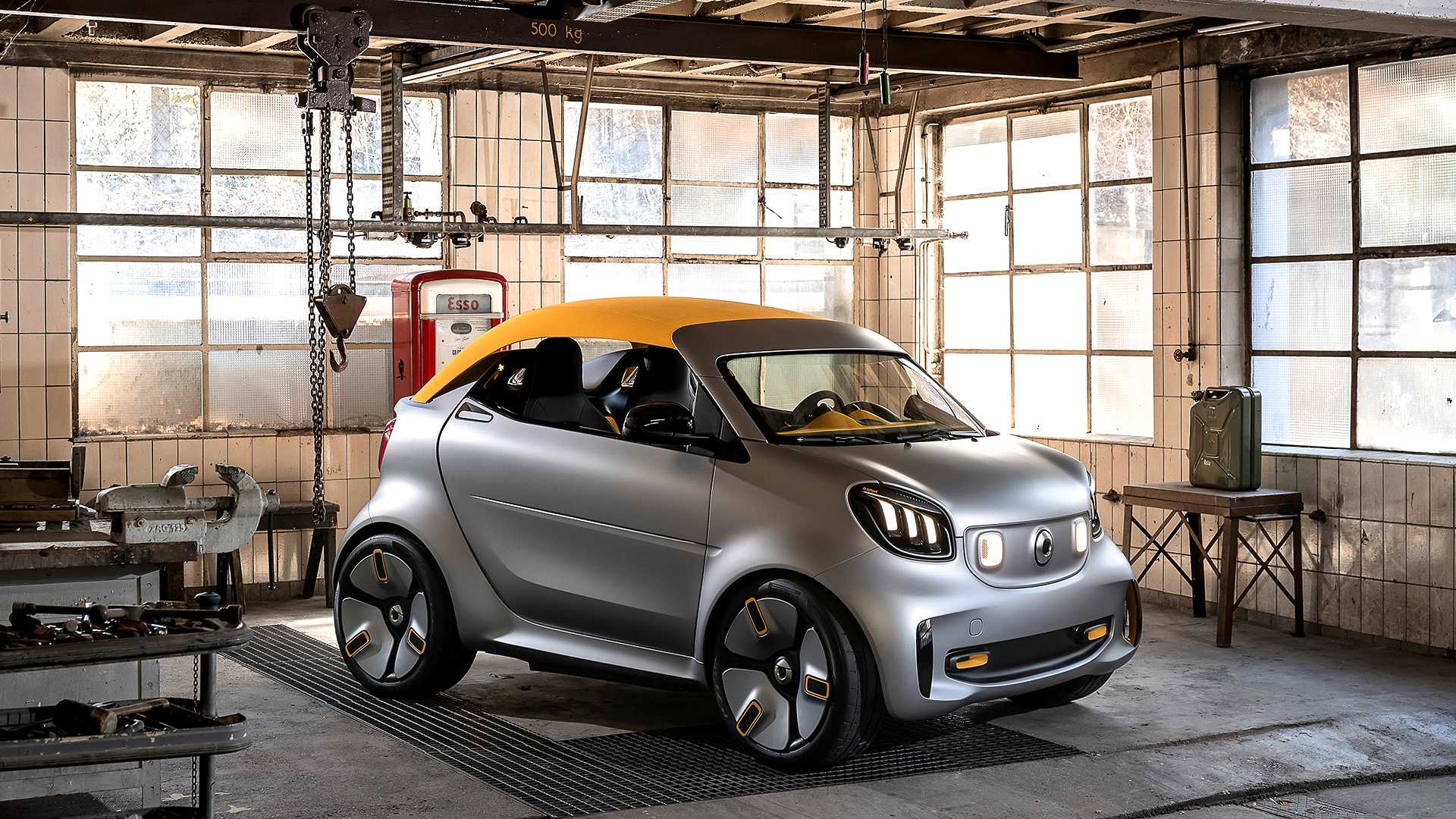 Smart Forease+ Concept Will Be The Smallest Cabrio In Geneva