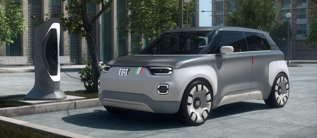 Fiat's Centoventi Concept previews an electric Panda city car