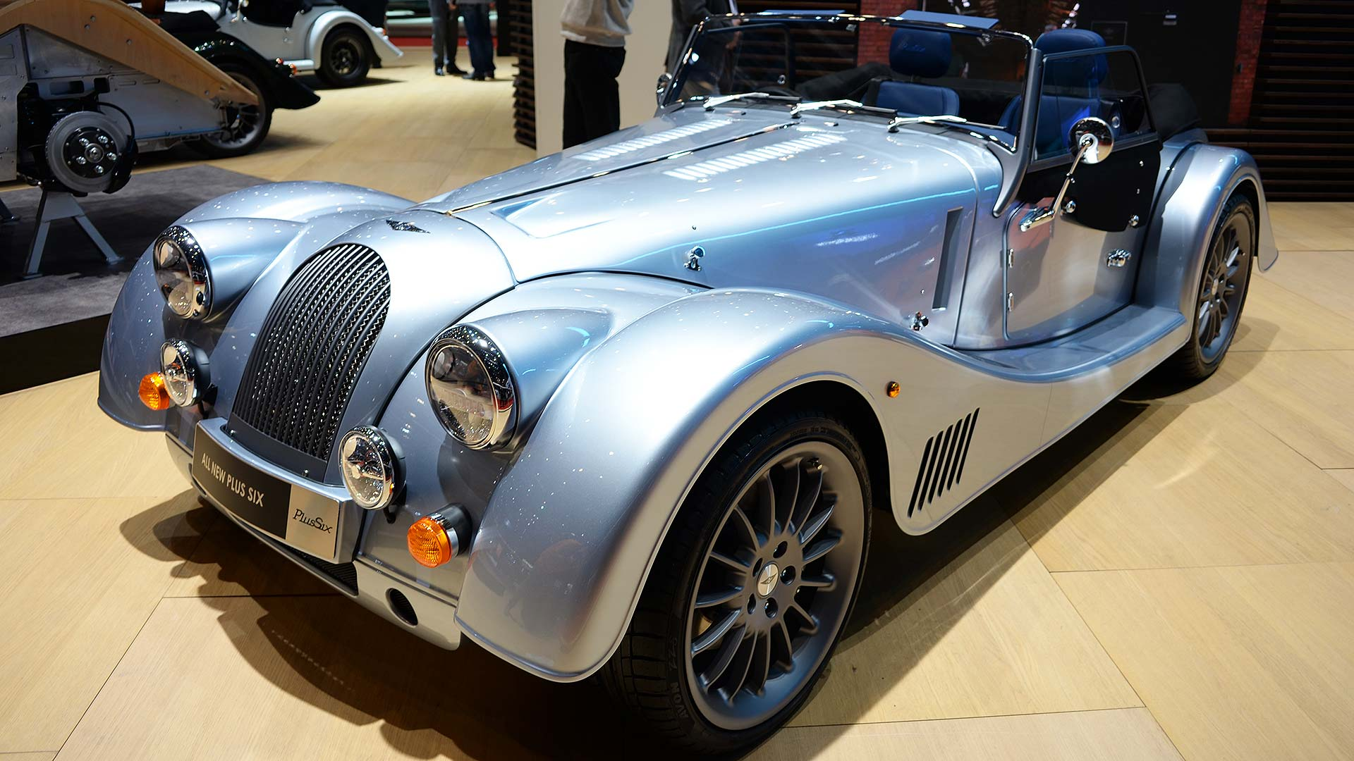 All-new Morgan Plus Six takes top spot from departed Plus 8