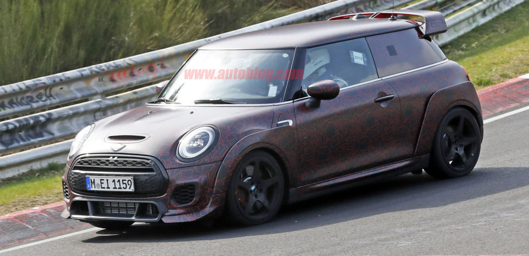 2021 Mini John Cooper Works GP spied in clearest photos yet