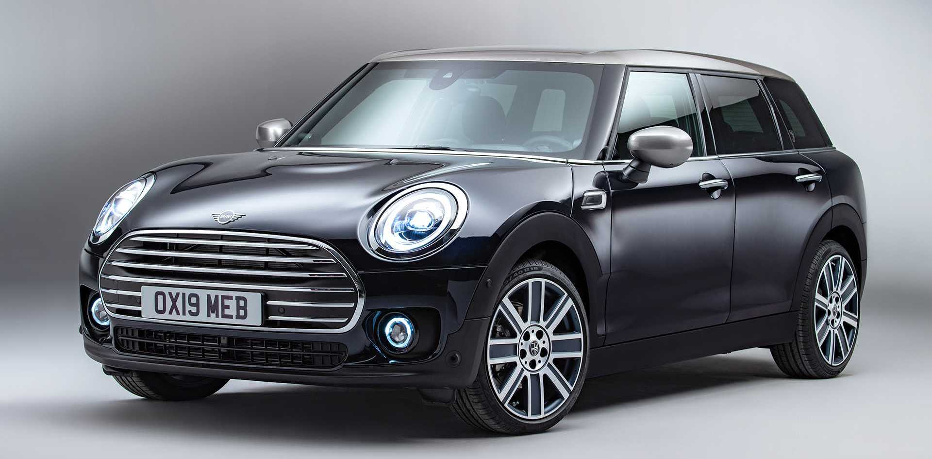 Mini Clubman Refresh Debuts With New Grille And Headlights