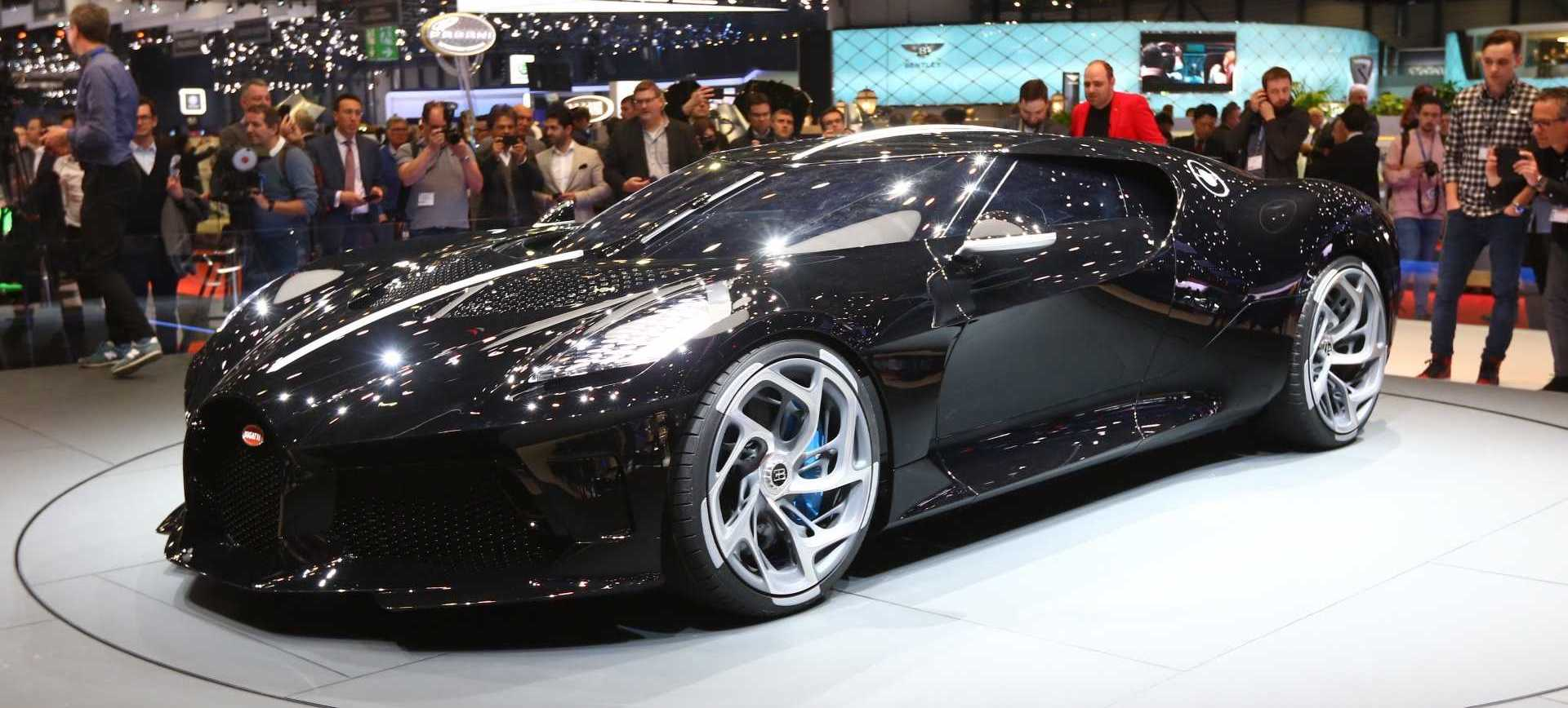 Bugatti La Voiture Noire Allegedly Bought By Cristiano Ronaldo