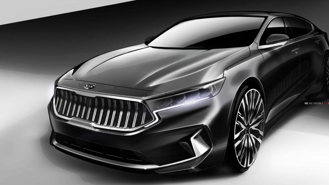Kia teases distinctive next K7, which previews the 2020 Cadenza
