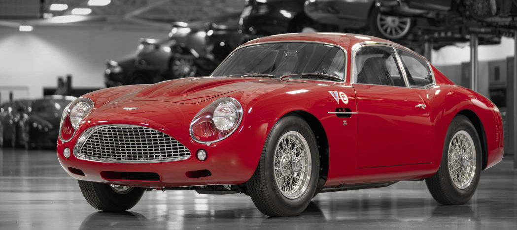 Aston Martin to display first DB4 GT Zagato Continuation at Le Mans
