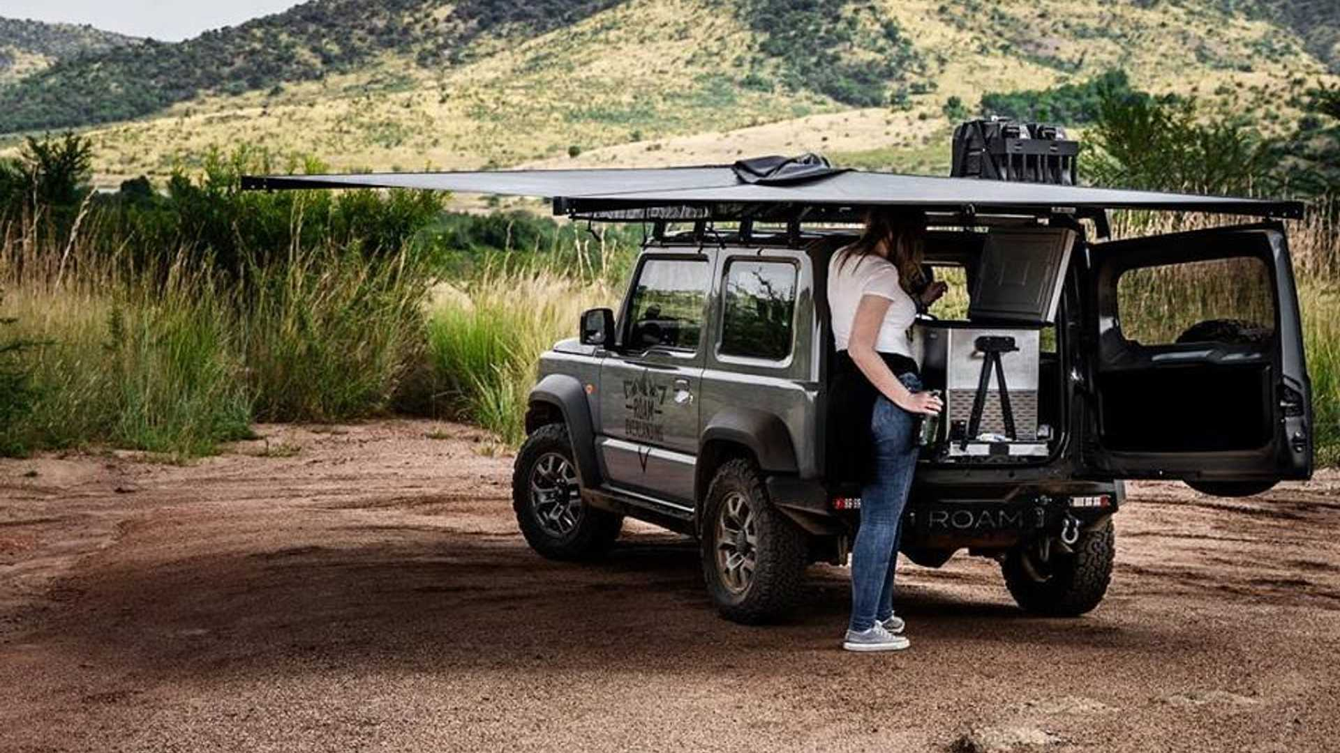 How Can You Make A Suzuki Jimny Cooler? Rooftop Tent