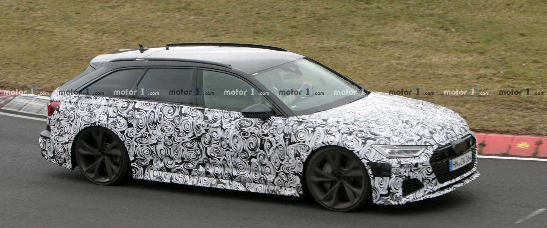Audi RS6 Avant Spy Video Shows The Wicked Wagon Wandering The Streets