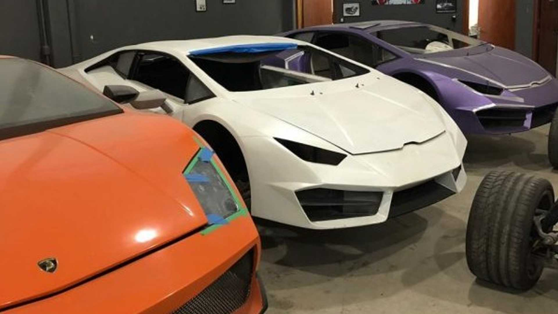 Phony Fauxrrari and Shamborghini replicas seized in Brazil