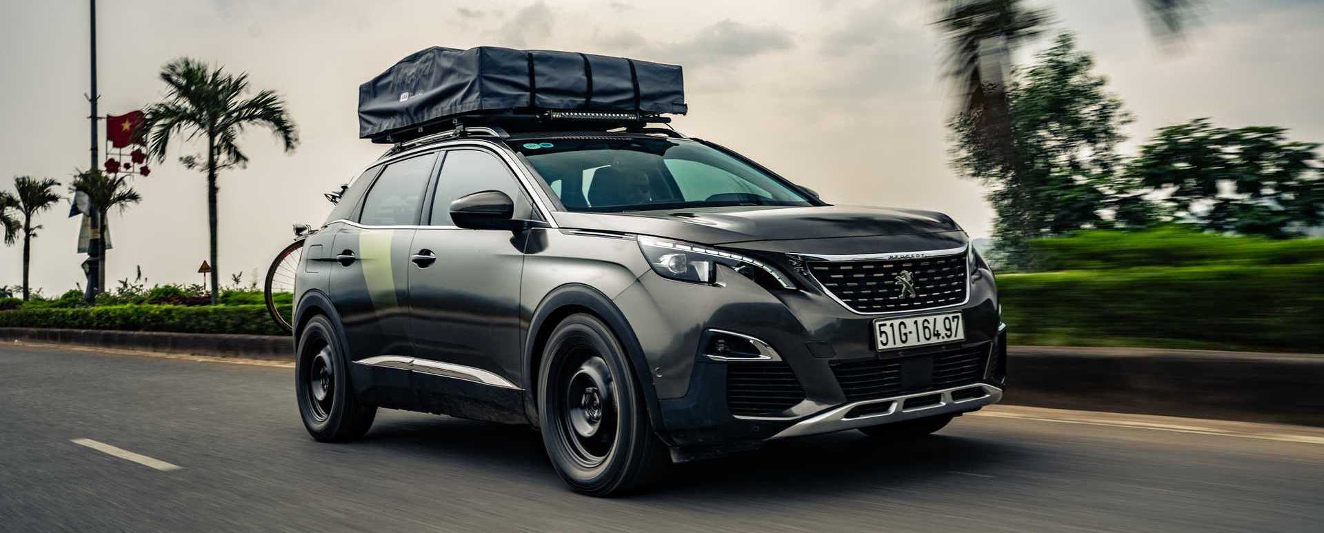 Peugeot 3008 Concept Wants To Be An Adventurous SUV