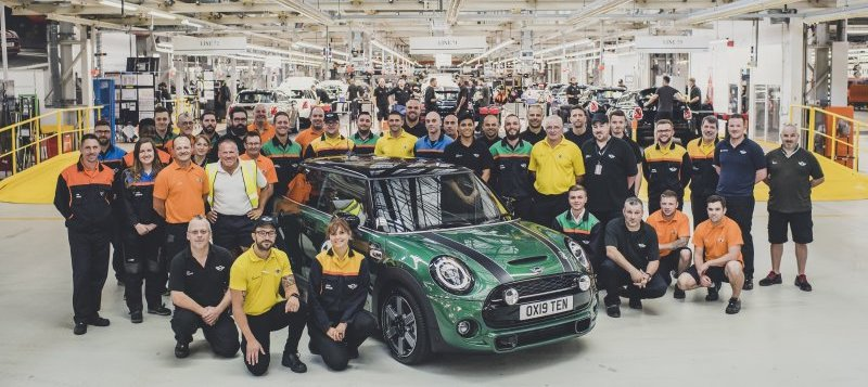 Mini's Oxford factory builds its 10 millionth car
