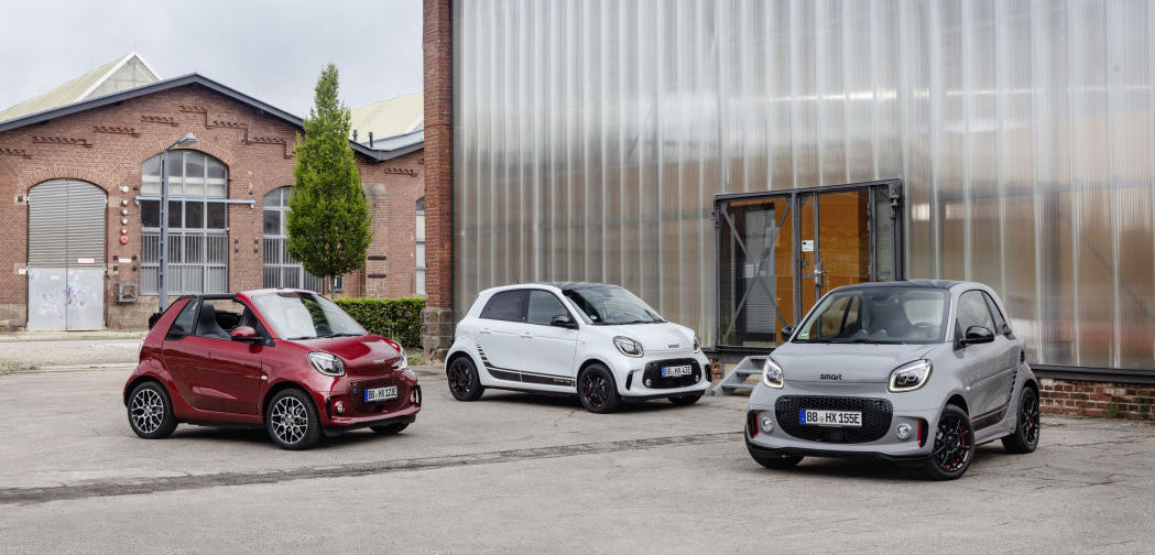 'New-generation' all-electric Smart ForTwo and FourFour the future of the brand