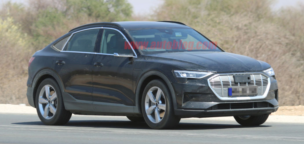2021 Audi E-Tron Sportback spied uncovered