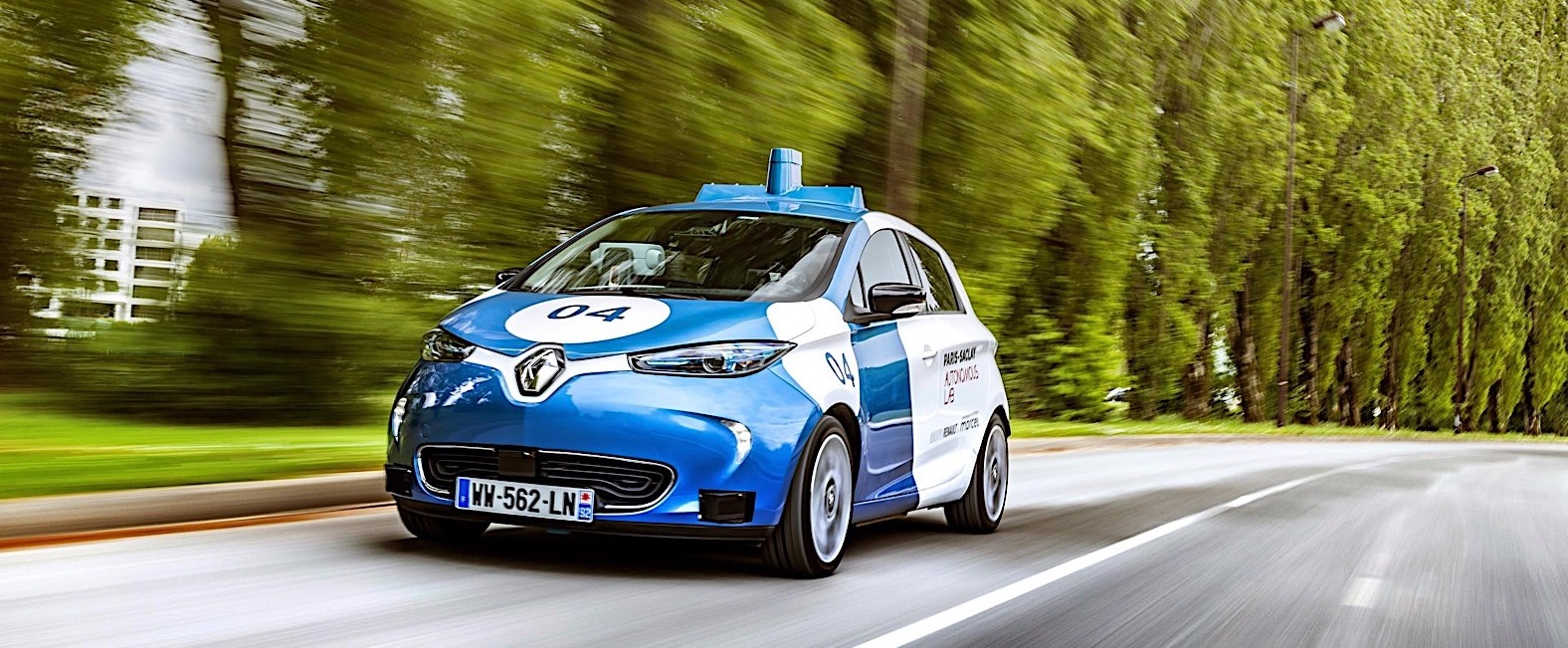 Renault Uses Humans Test Subjects to Perfect Autonomous Zoe in Paris