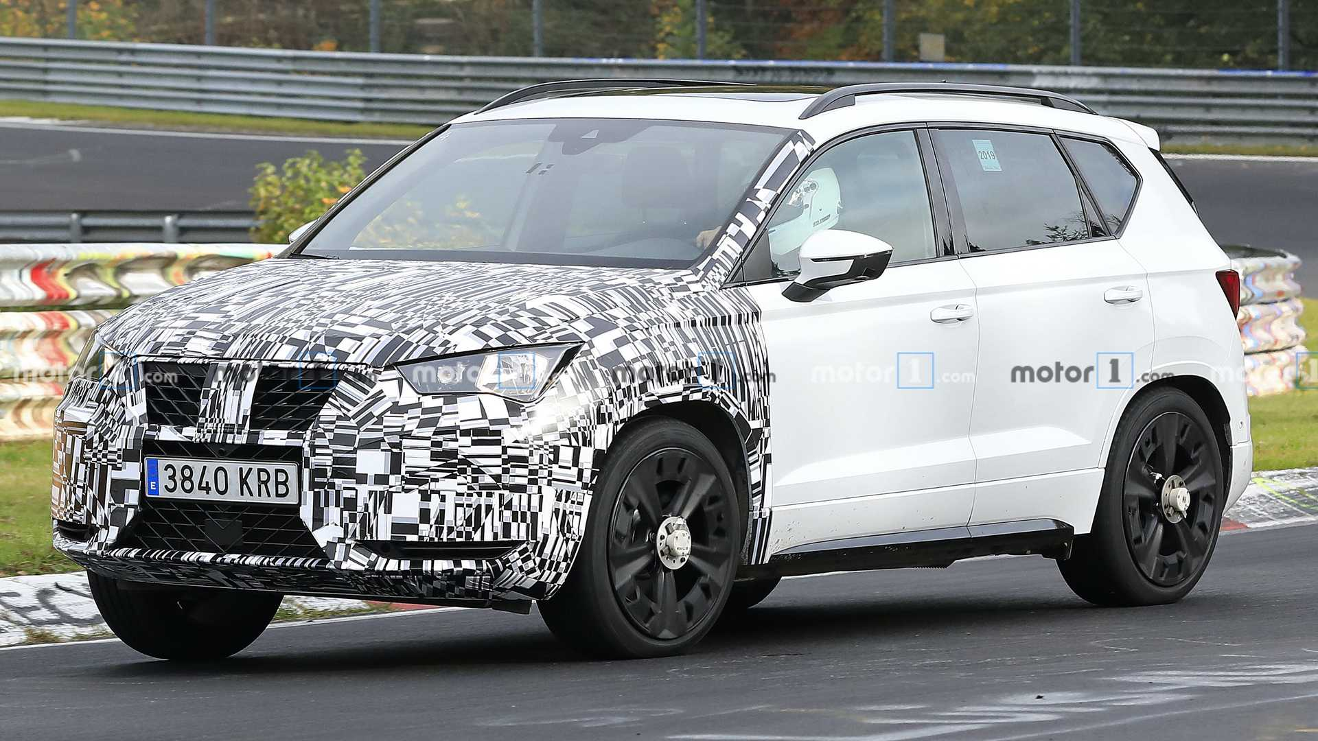 Cupra Ateca Mid-Cycle Refresh Spied For The First Time
