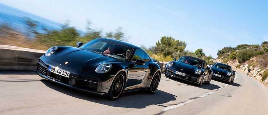 Porsche Shows Prototypes Of The New 911 Turbo
