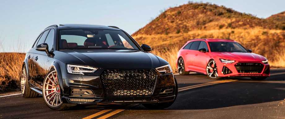 One-Off Audi S4 Allroad Meets New RS6 Avant In Stunning Video