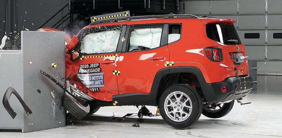 2020 Jeep Renegade Rated Top Safety Pick, Headlights Performance Could Do Better