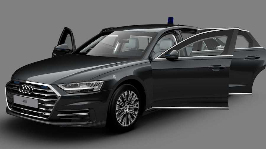 Audi A8 L Security Is An Armored Luxobarge With The S8's Engine