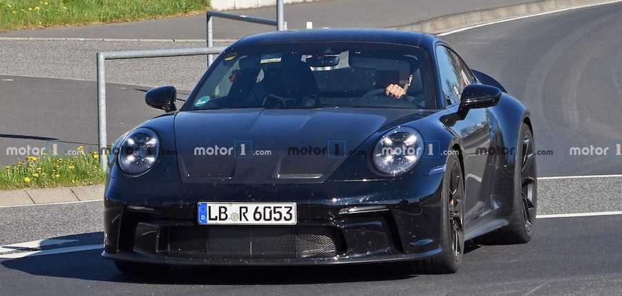 Porsche 911 GT3 Spied Making A Glorious Noise On The Nurburgring